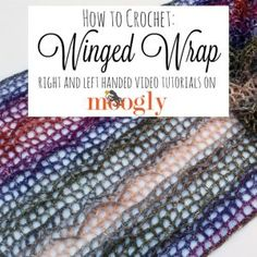 Learn how to crochet for free! Free Crochet Tutorials has hundreds of photo and video tutorials. This tutorial teaches you the Winged Wrap Pattern. Crochet Hood, Crochet Wrap Pattern, Crochet Chart, Crochet Patterns, Shawl Patterns, Crochet Tutorials, Crochet Projects, Crochet Prayer Shawls, Crochet Shawls And Wraps