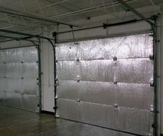 Lowes sells garage door insulation for keeping cold and for Energy efficient garage doors
