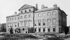 The disappeared great estates Lathom Hall, seat of the Earls of Derby and then the Earls of Lathom, was the finest Palladian house in the county