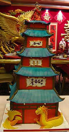 pagoda - grooms cake