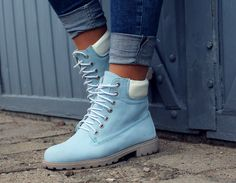 baby blue timberland