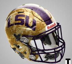 85682036d Future LSU football helmet Uni Football