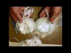 Shabby Chic Early Xmas Ornaments - jennings644 - YouTube