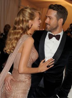 The Met Gala 2014 - Blake Lively and Ryan Reynolds
