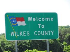 Wilkes County NC. Can't wait to visit my best friend♡
