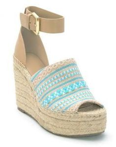 11e6a159c58 Marc Fisher Adalyn Espadrille Platform Wedge Sandals Summer Heels