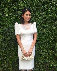 Today I wear and my very own design Modern Filipiniana Gown, Filipiniana Wedding, Grad Dresses, Formal Dresses, Wedding Dresses, Wedding Attire, Elegant Dresses, Filipino Wedding, Filipino Fashion