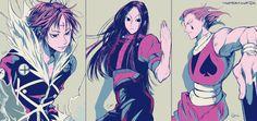 Chrollo, Illumi and Hisoka - Hunter x Hunter