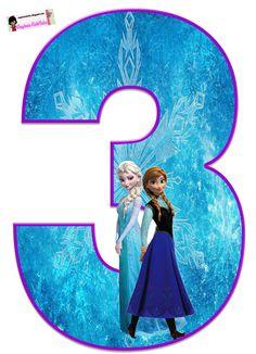 Frozen: Free Elsa and Ana Alphabet. Frozen: Bello Alfabeto Gratis de Elsa y Ana. Sofia The First Birthday Party, Frozen Birthday Theme, Frozen Themed Birthday Party, Happy Birthday, Frozen Free, Elsa Frozen, Frozen Cupcake Toppers, Frozen Images, Disney Frozen Birthday