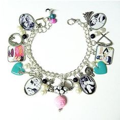 Style! / I NEED this. Breakfast at Tiffany's charm bracelet.
