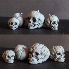 ArtStation - Evil Pumpkin Skulls, Arminas Didziokas Zombie Halloween Decorations, Halloween Ideas, Evil Pumpkin, Zbrush, Sculpting, Doll Clothes, 3d Printing, Lion Sculpture, Clay