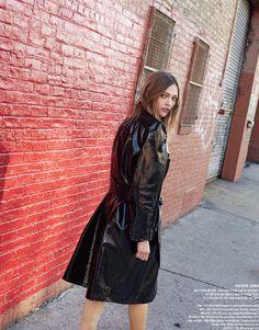 Vogue Korea February 2017 Sasha Pivovarova by Peter Ash Lee - Fashion Editorials