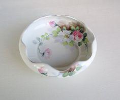 Rosa de Nippon, mano pintada Nippon, tazón de fuente de Nippon, Nippon, pintado…