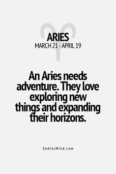 Aries Facts - Widder Fakten