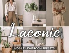 LACONIC Lightroom Mobile Presets Stylish photo editing portraiture, subject shooting and photographs inside. Preset removes gray shades, turning dirty shades into high-quality and clean shades. Minimalist Photos, Professional Lightroom Presets, Edit Your Photos, Simple Photo, Instagram Fashion, Style Instagram, Instagram Feed, Saturated Color, Portrait Photography