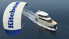 Giant kite sail will pull eco-boat across the Atlantic | I Love the Planet - NPO and NGO