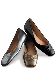 Astrid Leather Ballet Flats | Territory Ahead