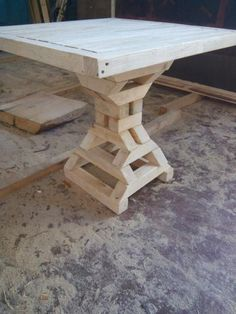 Great use for off cuts Woodworking Furniture, Pallet Furniture, Furniture Projects, Furniture Plans, Rustic Furniture, Woodworking Projects, Furniture Design, Diy Wood Projects, Wood Crafts