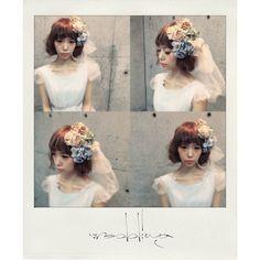 ウェディングヘア☆  ミディアムをボブ風に  アレンジしました  #ヘアアレンジ #美容師 #ブライダル #浜松市