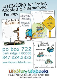 Foster and Adoption Life Books