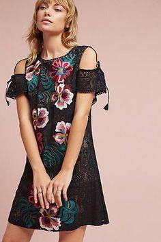 Prati Embroidered Sheath Dress
