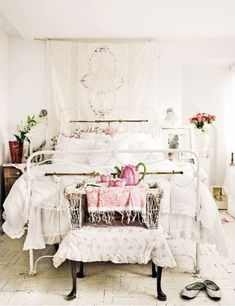 Shabby Chic Bedroom by hannah.cassady