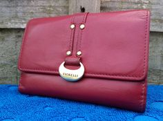 Fiorelli Leather Purse 3 Section, Paper Money Compartment, ID Photo Credit Card in Clothes, Shoes & Accessories, Women's Accessories, Purses & Wallets   eBay
