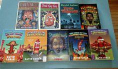 Lot of 9 Paperback Books by David Lubar Road Weenies Zombie True Hidden Talents