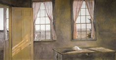 ANDREW WYETH HER ROOM 1963
