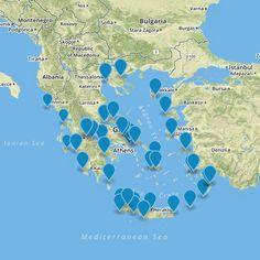 Kite spots in Greece http://www.kiteadvisor.gr #kiteboarding #kitesurfing #travel
