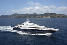 ANASTASIA superyacht - a beautiful yacht - build by Oceanco