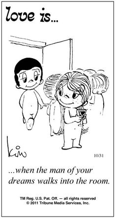 Love Is Cartoons by Kim | Love Is ... Comic Strip by Kim Casali (October 31, 2011)