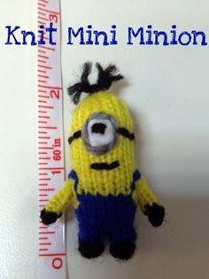 Knit Mini Minion