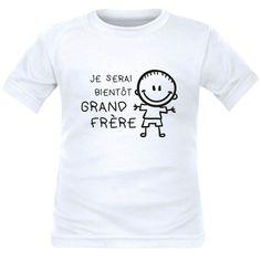 51b069ecbca77 Tee shirt enfant pour futur grand frère   je serai bientôt GRAND FRÈRE