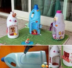 Laundry detergent houses for Littlest Pet Shop pets