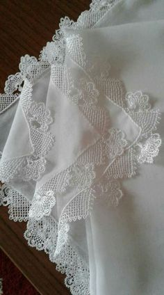 This Pin was discovered by Κασ Crochet Lace Edging, Crochet Patterns, Tunisian Crochet, Knit Crochet, Needle Lace, Lace Collar, Crochet Scarves, Diy And Crafts, Weaving