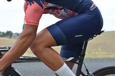Lumiere Cycling - Navy Bibs | Melbourne Australia
