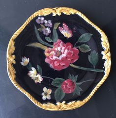 """Raymond Waites Certified International Corporation style """"Bali"""" salad plates. They measure about 8.25""""x8.25"""". In excellent condition.   eBay!"""