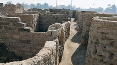 """Egypt announced on Thursday the discovery of what it termed the """"Lost Golden City"""" in the southern province of Luxor. Amenhotep Iii, Archaeological Discoveries, Archaeological Finds, Stonehenge, Ancient Egyptian Cities, Ancient History, The Boy King, Kairo, Reign Bash"""