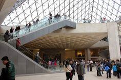 Pyramide du Louvre, intérieur