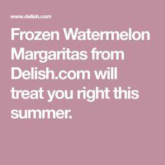 Frozen Watermelon Ma