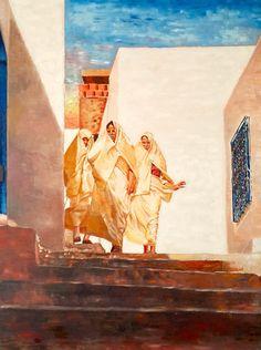 Painting Inspiration, Art Inspo, Victorian Paintings, Arabic Art, Egyptian Art, Native Art, North Africa, Art Plastique, Islamic Art