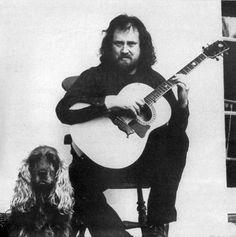 John Renbourn (1944-2015) English guitarist and composer (Pentangle)