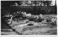 Berkenhove begraafplaats Engelse militairen 1943