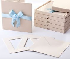 And this one for the boys :-) Cream CD Folio with Blue Ribbon Muslin Backdrops, Photo Folder, Photography Marketing, Blue Ribbon, Wraps, Packing, Gift Wrapping, Branding, Hand Painted
