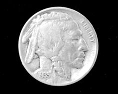 1935 Historic Buffalo Nickel in Average Circulated Condition. Starting at $1