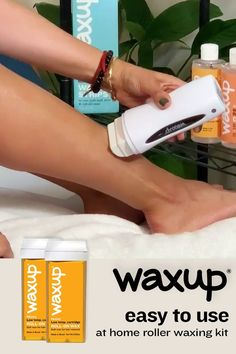 Home Waxing Kit, Secret Starbucks Drinks, Body Waxing, Beauty Spa, Smooth Skin, Hair Removal, Body Care, Sensitive Skin, Bath And Body