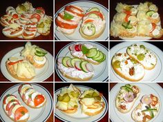 What To Cook, Fresh Rolls, Pasta Salad, Sandwiches, Cooking, Ethnic Recipes, Food, Mouths, Czech Recipes