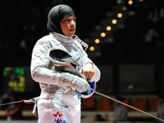 US Muslim fencer ready for Rio - The Express Tribune