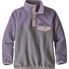 a13868b58d597 Lightweight Synchilla Snap-T Pullover Fleece Jacket - Girls